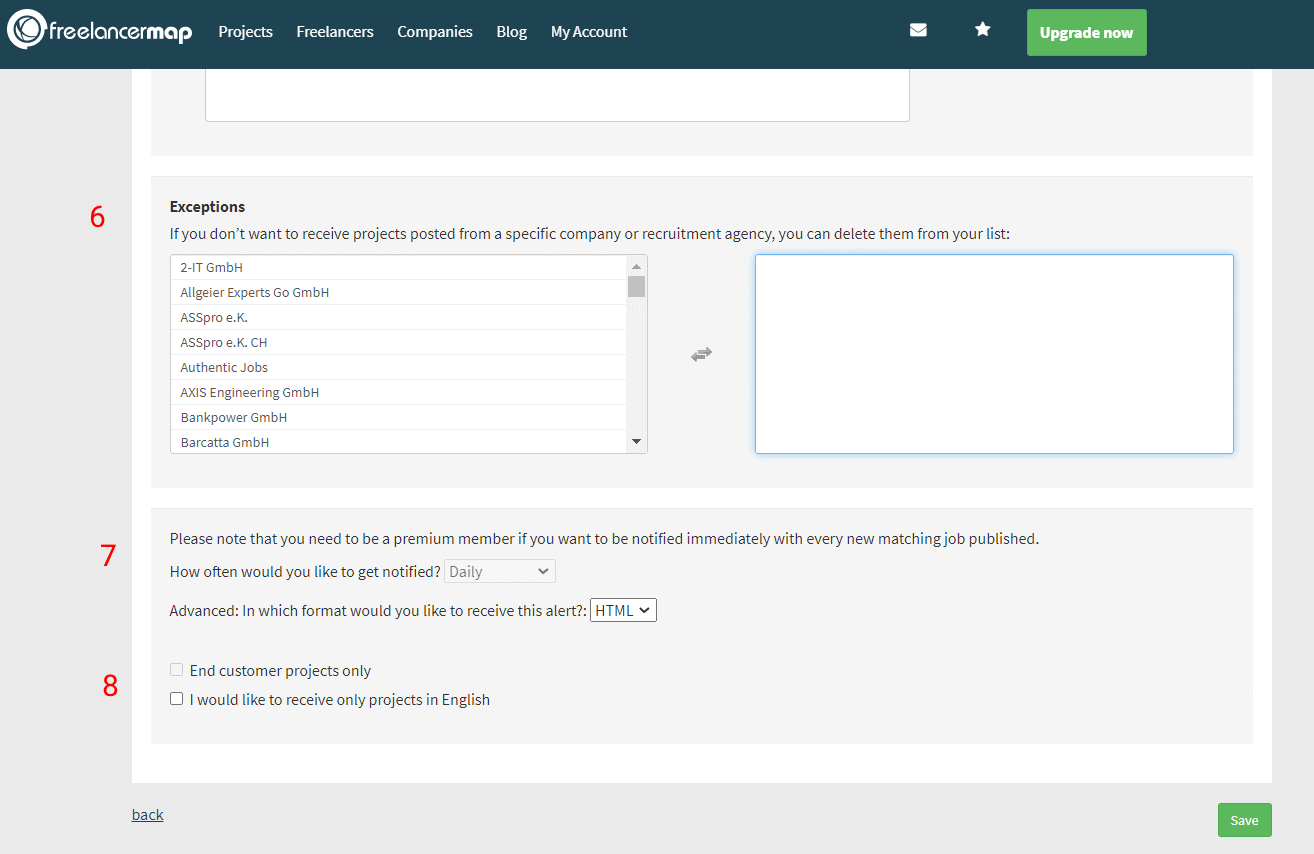 Setting Up The Project Agent (3/3)