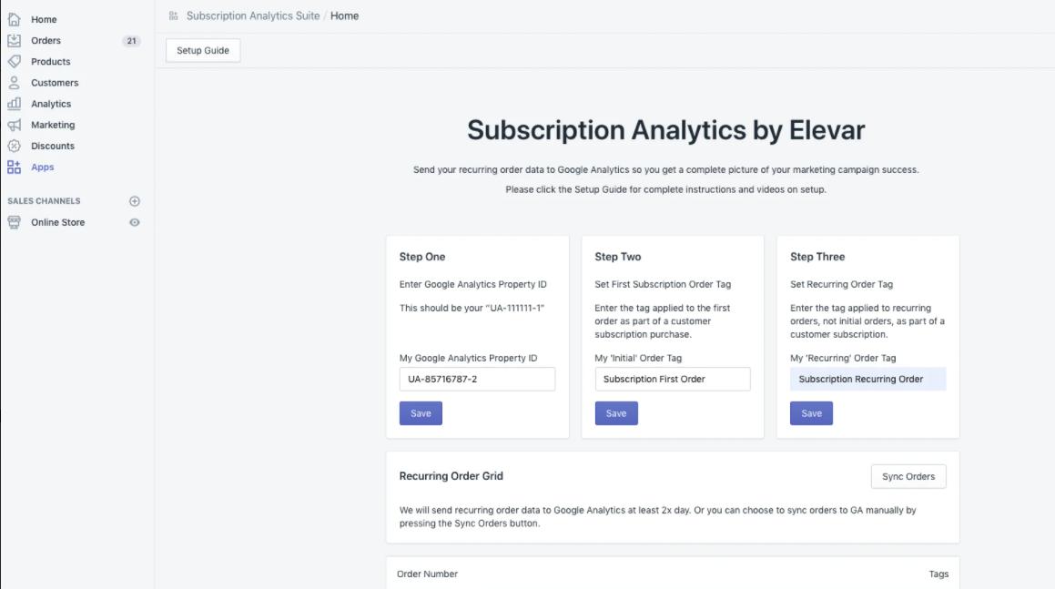 popular Shopify subscription app