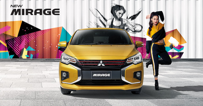 New Mitsubishi Mirage Minorchange