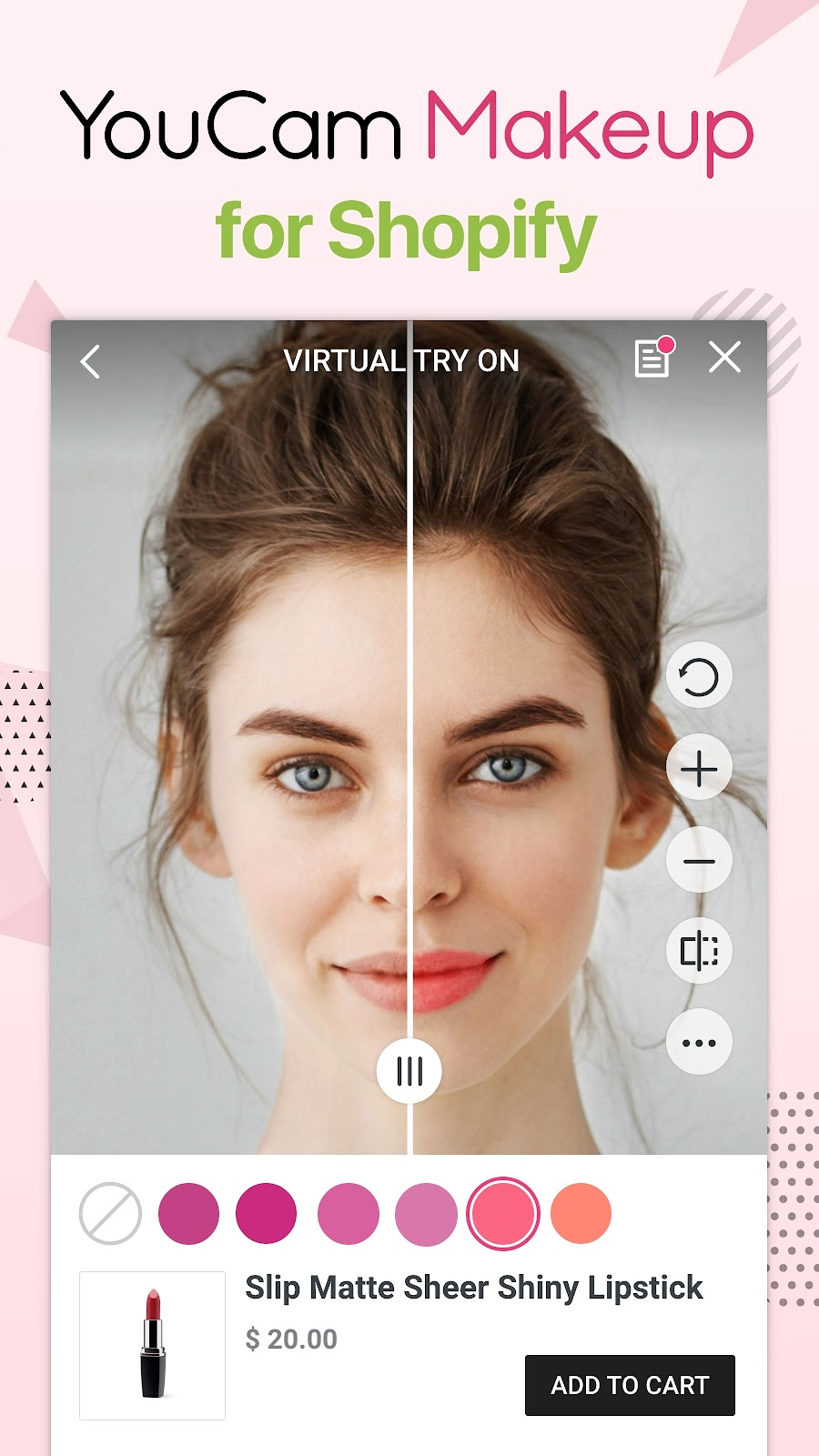 YouCam Makeup for Shopify
