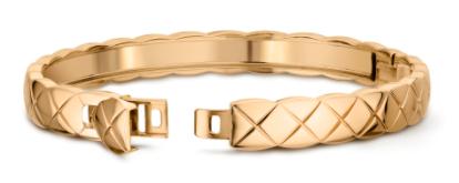 1. กำไลข้อมือผู้หญิงแบรนด์ Chanel รุ่น Coco Crush Bracelet 18k Yellow Gold 02