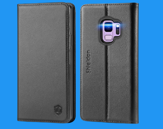 SHIELDON Galaxy S9 Cardholder Case