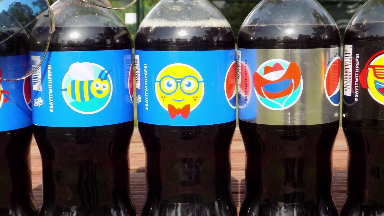 Pepsi Emoji Bottles | Inspiring Influencer Campaigns Featured on Afluencer