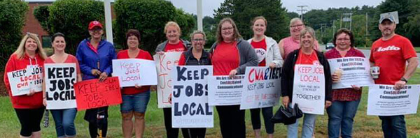 CWA members mobilize for a contract at Consolidated Communications