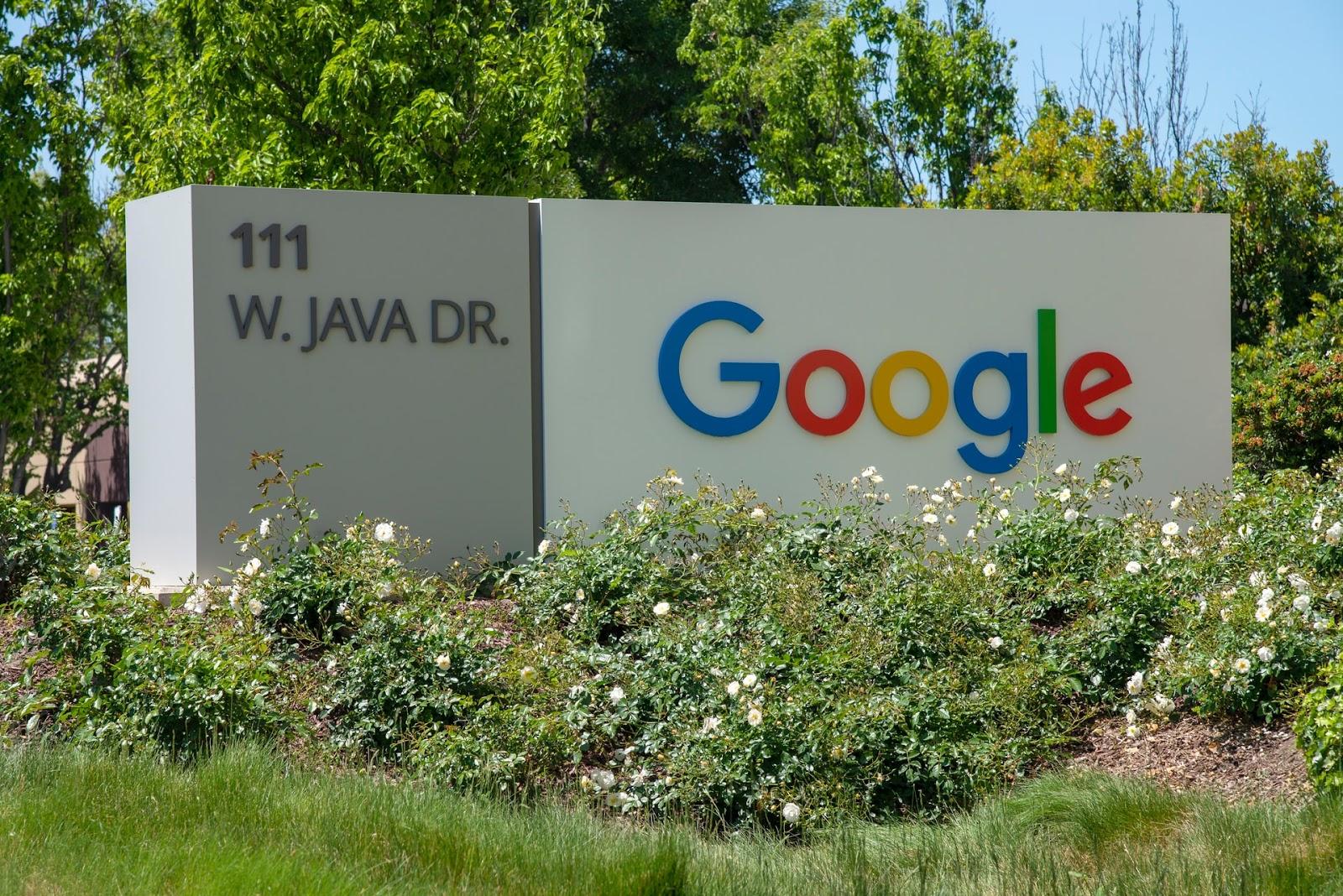 Photo of Google 111 W Java Dr location
