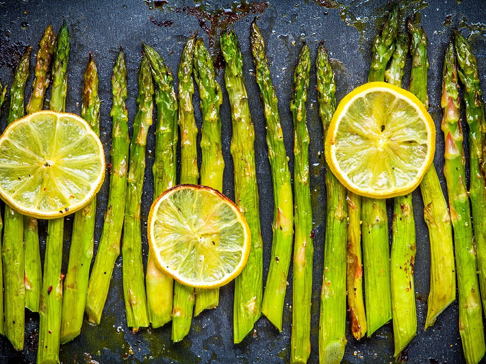 Essential vitamins your body needs: Folate from asparagus