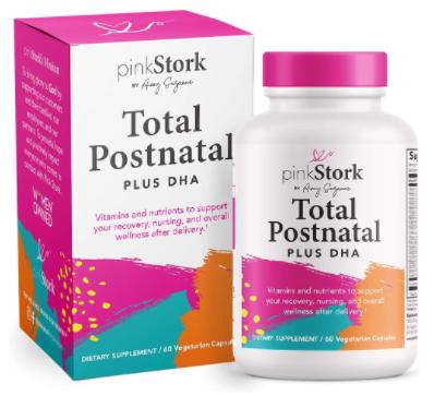 7. Pink Stork Total Postnatal + DHA