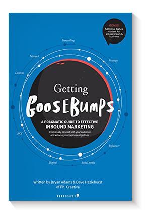 Imagen que contiene portada de libro Getting Goosebumps: a pragmatic guide to effective inbound marketing.