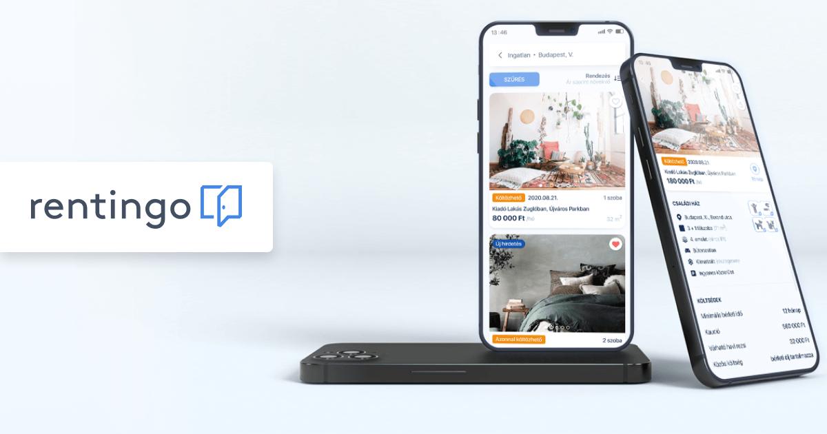 Rentingo mobilapp a bérlő és a kiadó közötti hatékonyabb kommunikációért