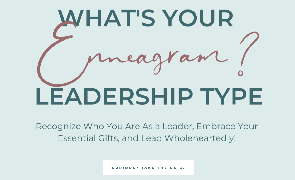 What's your Enneagram Leadership type?