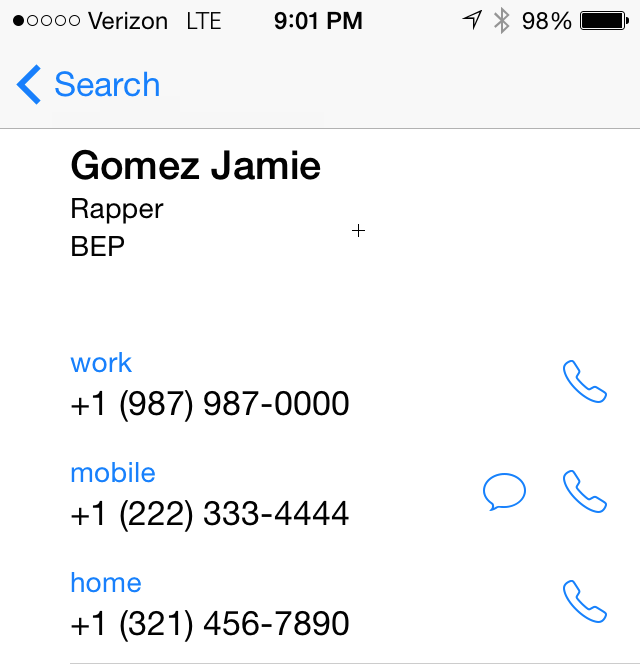 Global Address List To IPhone: Search Vs. Sync