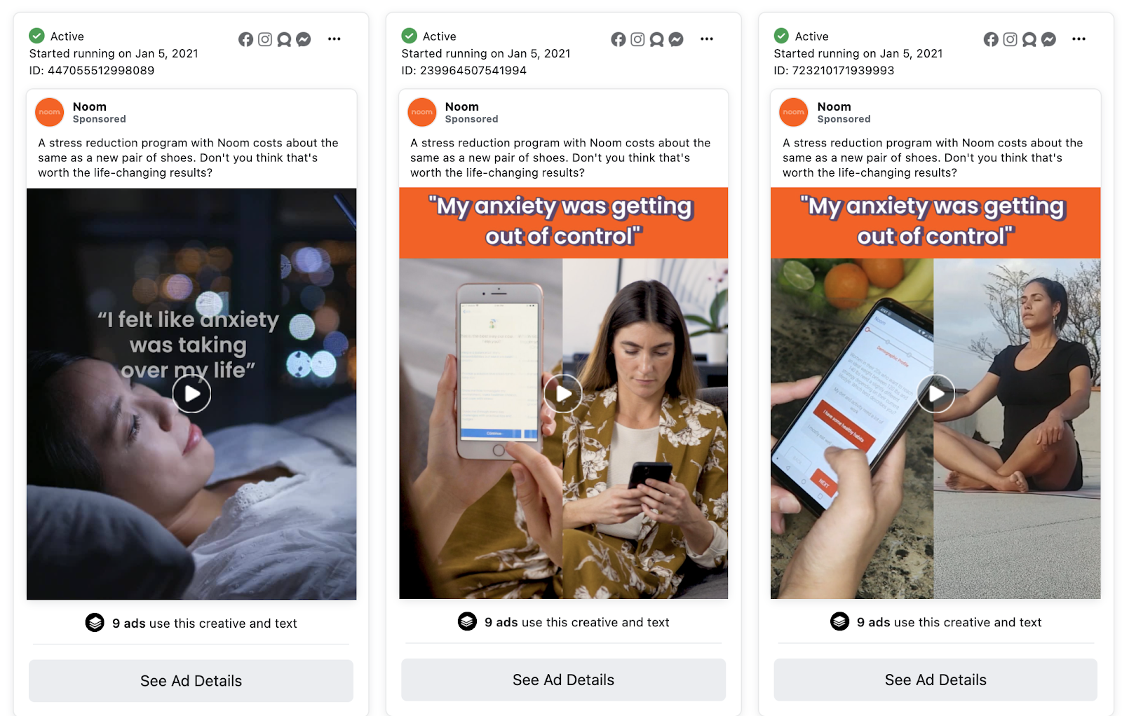 Templates for Facebook ads
