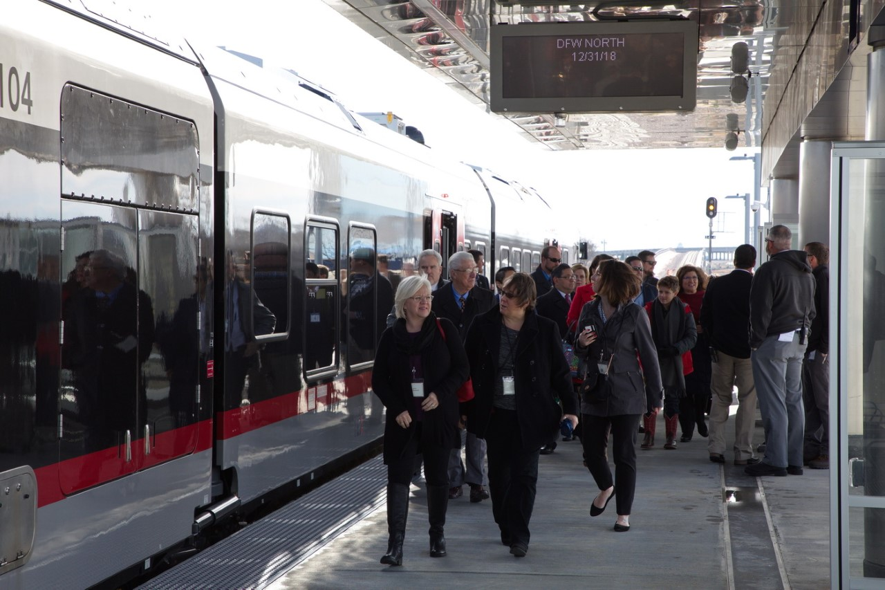 TEXRail station to expand after 'overwhelmingly positive