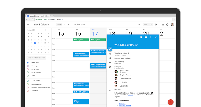 Calendar: Add rich formatting and hyperlinks to your Calendar invites - screenshot