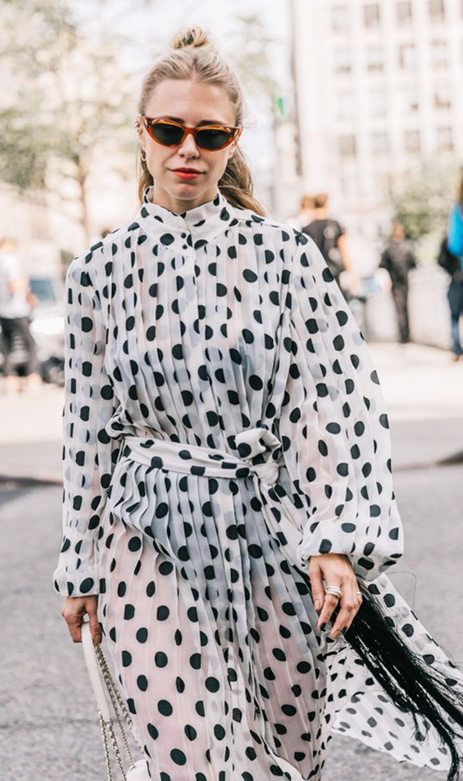 trendy looks, black and white combinations 4