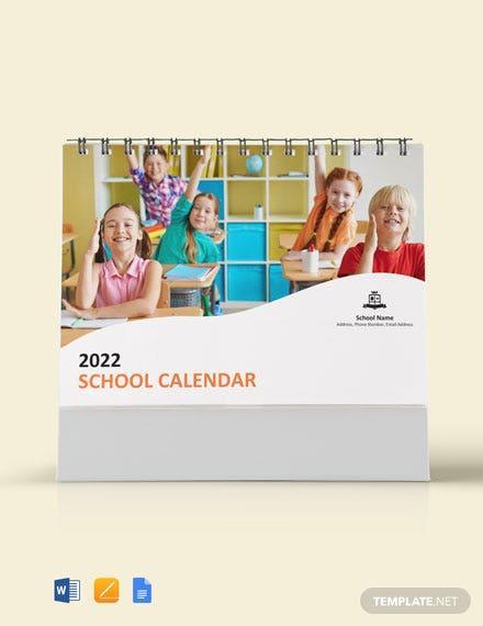 E:\статьи\Декабрь 30+ Free Calendar Templates In Google Docs\Simple-School-Desk-Calendar.jpg