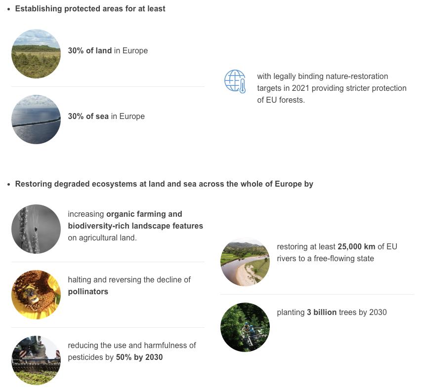 EU Biodiversity strategy quick facts