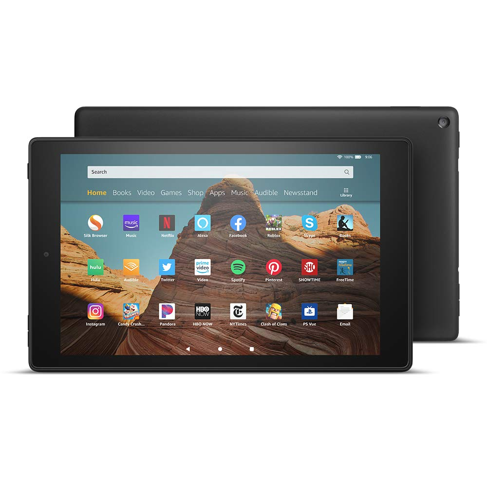 New Amazon Fire Hd 10 Tablet 32 Gb 9th Generation Black 841667182667 Ebay