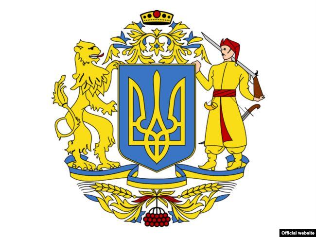Ескіз-фаворит на попередніх конкурсах на Великий Герб України