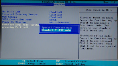 Program a function key