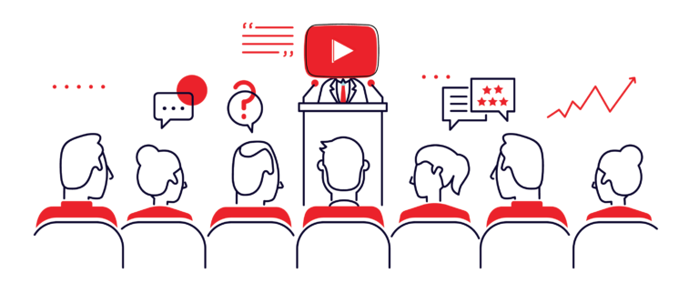 Keep your channel updated and interact with your audience.