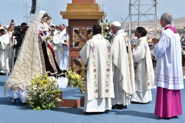 Bài giảng của Đức Thánh Cha trong Thánh Lễ ở Iquique, Chile (Toàn văn) & Lời chào cuối Lễ