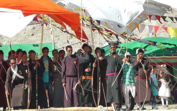 ladakh festival Archery event iyaatra holidays