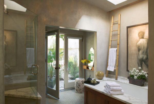 Phòng tắm phong cách Á Đông