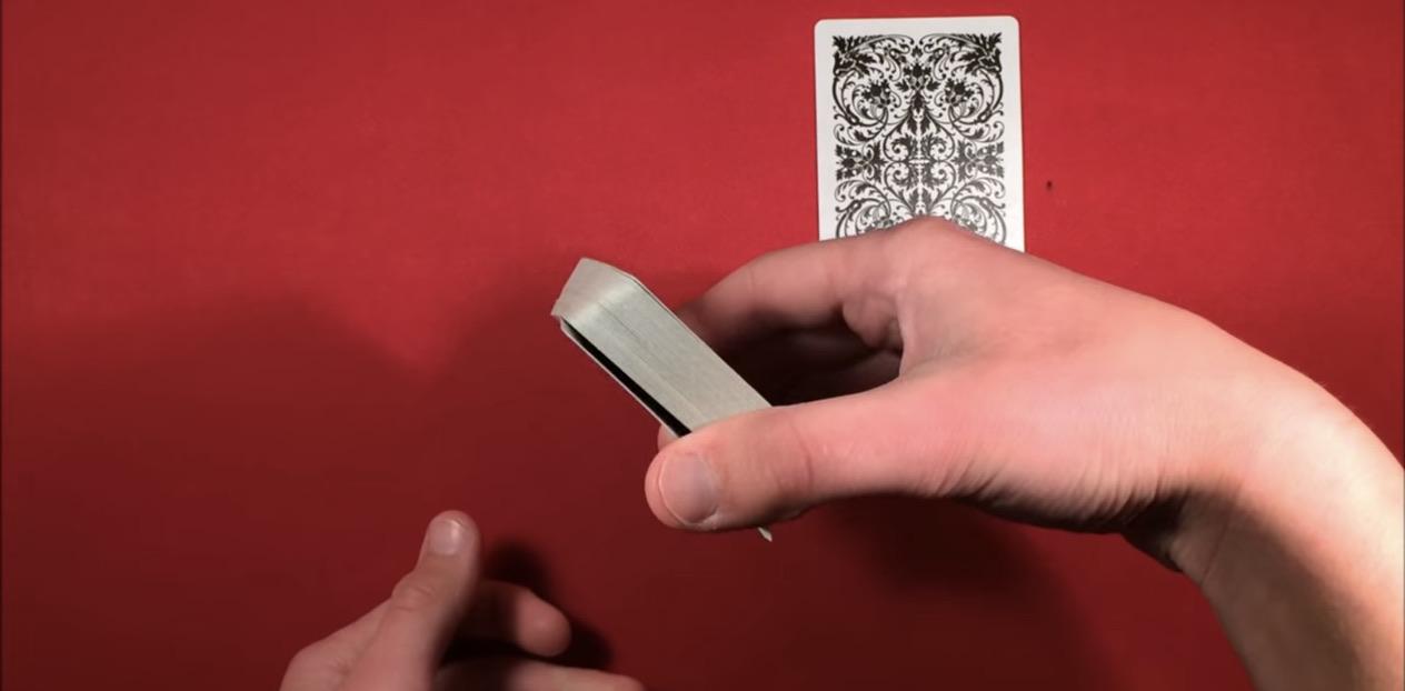 Lie detector magic trick