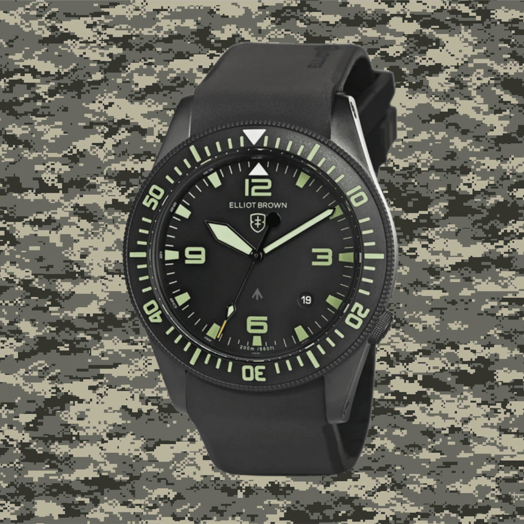 Photo of an Elliot Brown - Holton 101-001-R06 military watch