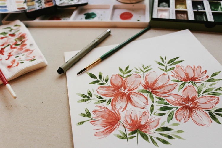 Growing up, my mom always told me that having creative hobbies was healthy for everyone, since it can help calm your mind. It didn't matter if you were goo