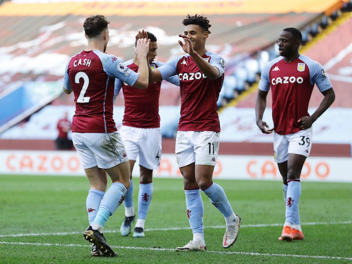 Aston Villa đang thể hiện phong độ khá thất thường