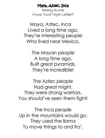 Aztec Worksheet - resultinfos