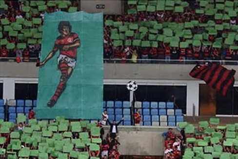 Globo bancou o mosaico do Flamengo