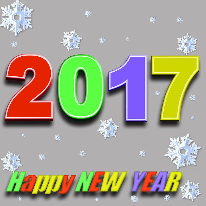 ... Happy New Year, 2017, New ...