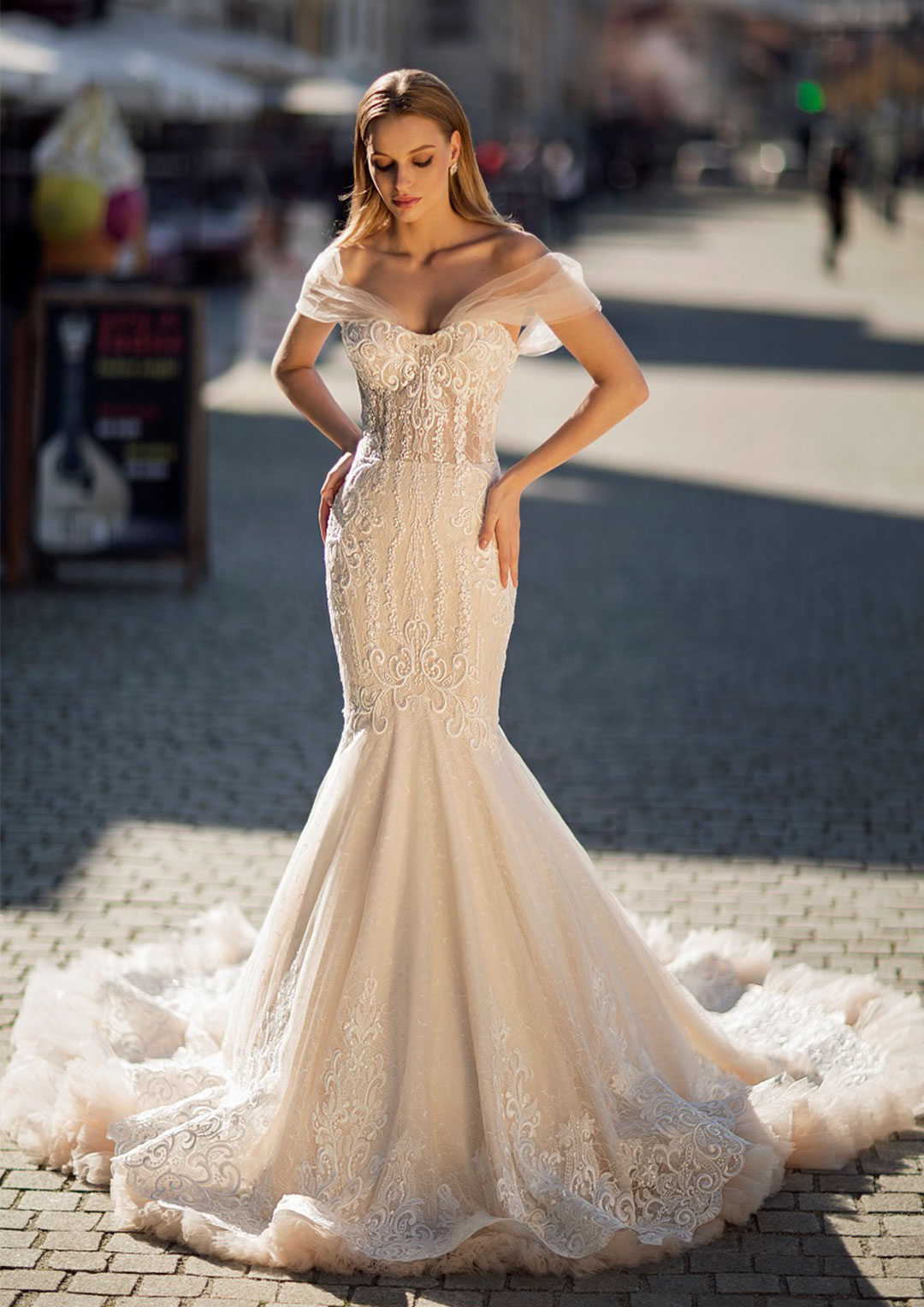7df100128f8d Lastly there is sheath which is another very popular and chic silhouette!  This type of gown skims the body and falls right to the floor.