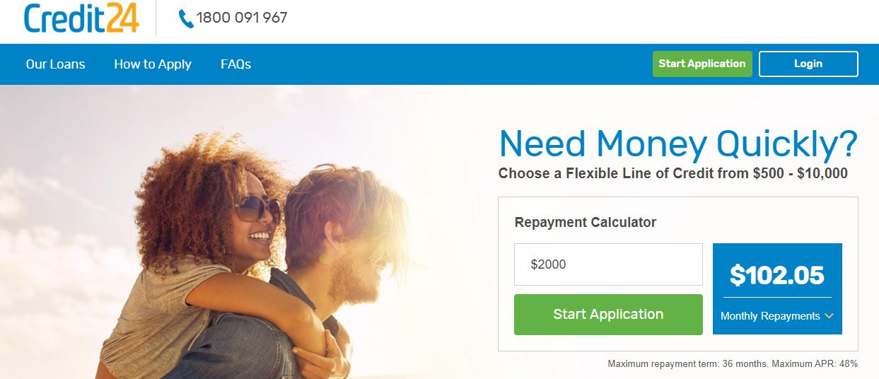 credit 24 online application form