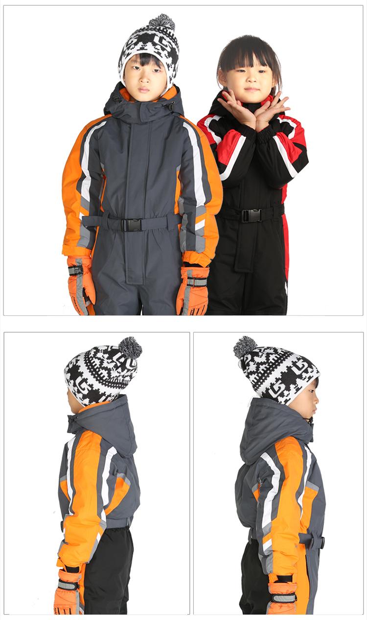 Kombinezony narciarskie dla dziewczynki