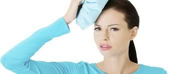 bolsa de hielo para el dolor de cabeza