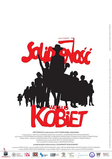 Polski plakat filmu 'Solidarność Według Kobiet'