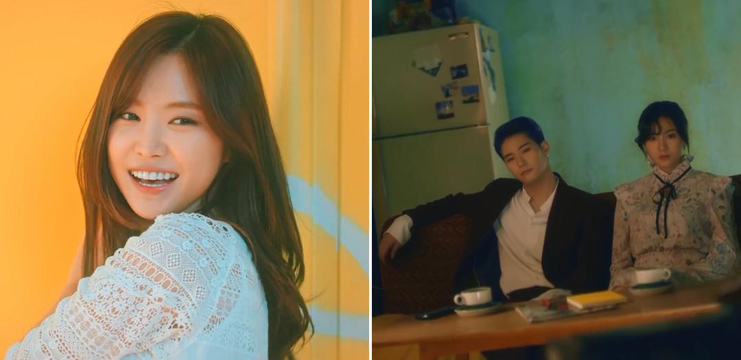 Naeun - I'm Fine. Hayoung - Remember Me.