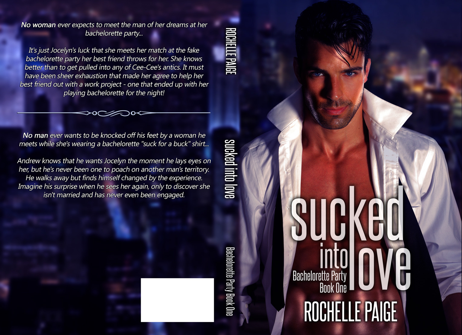 Sucked Into Love by Rochelle Paige Cover Reveal