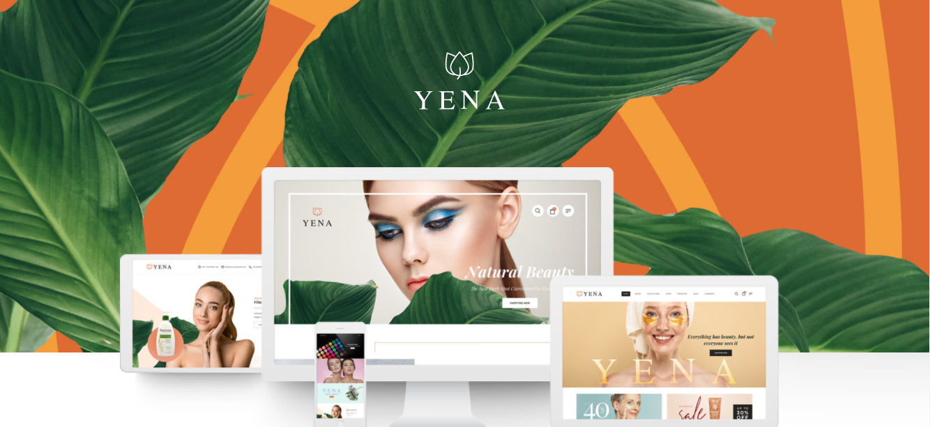 Yena - Cosmetic Woocommerce theme
