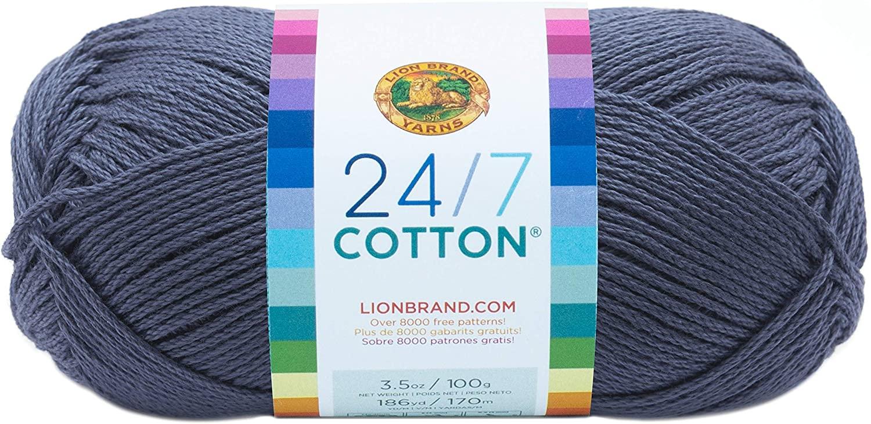 yarn for baby blankets--Lion Brand Yarn 24-7 C
