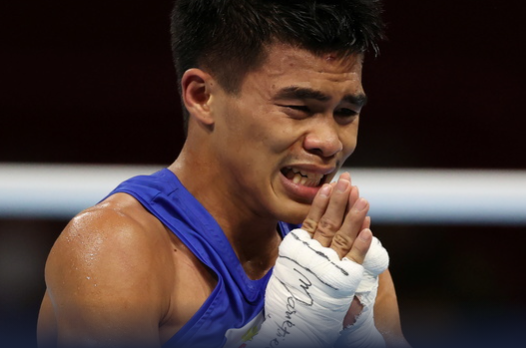 Carlo Paalam says hello to Olympic gold medal fight