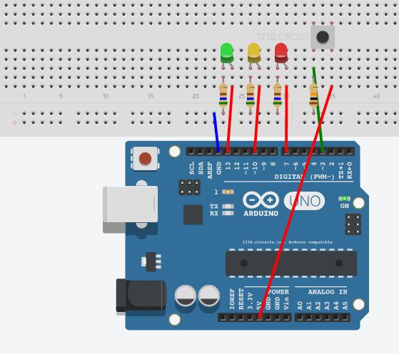 Mhs arduino traffic light stem summer