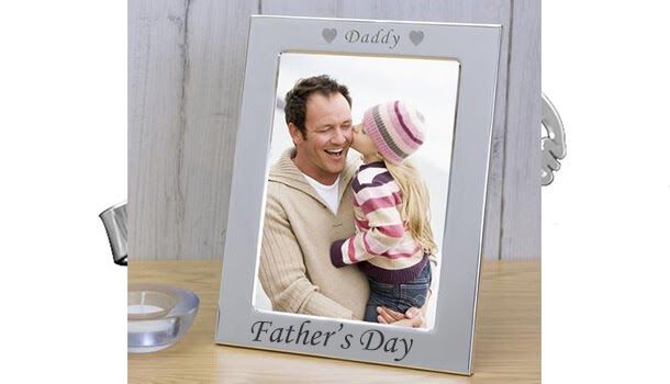 Silver Plated Fathers Day Frame