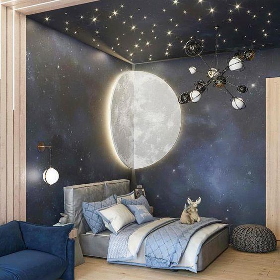 Galaxy Vibe Boy Bedroom Ideas