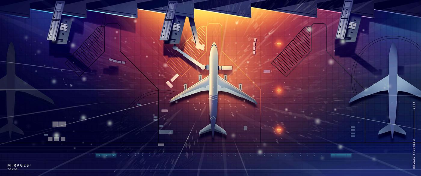 Image may contain: airplane, aircraft and screenshot