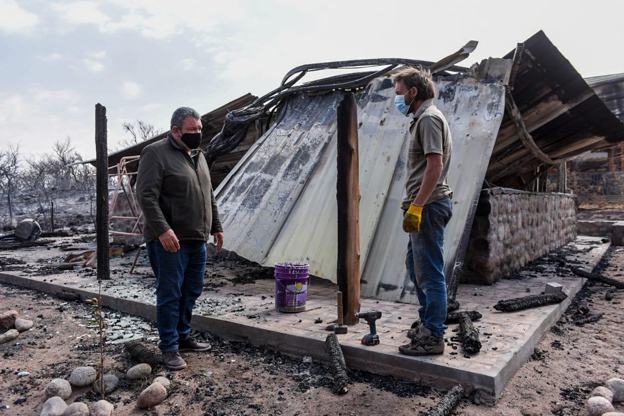 Ministerio de Desarrollo Social asiste a las familias evacuadas del Valle de Punilla 5